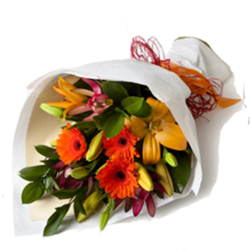 Rollwrap Bouquet from Bethlehem Floral
